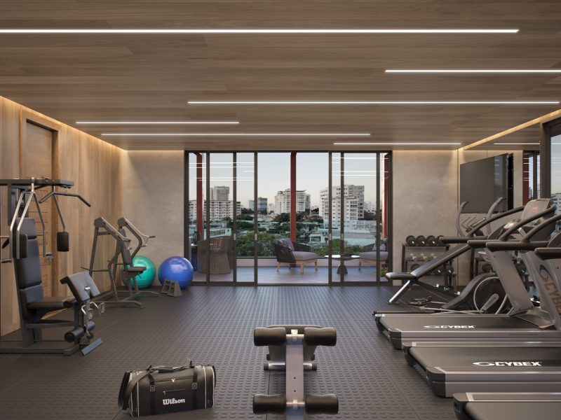 7.Gym Escorial Tower 253